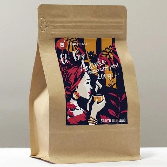 Santo Domingo arabica kávé