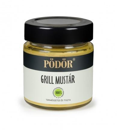 Különleges borsokkal fűszerezett mustár, kézzel készítve